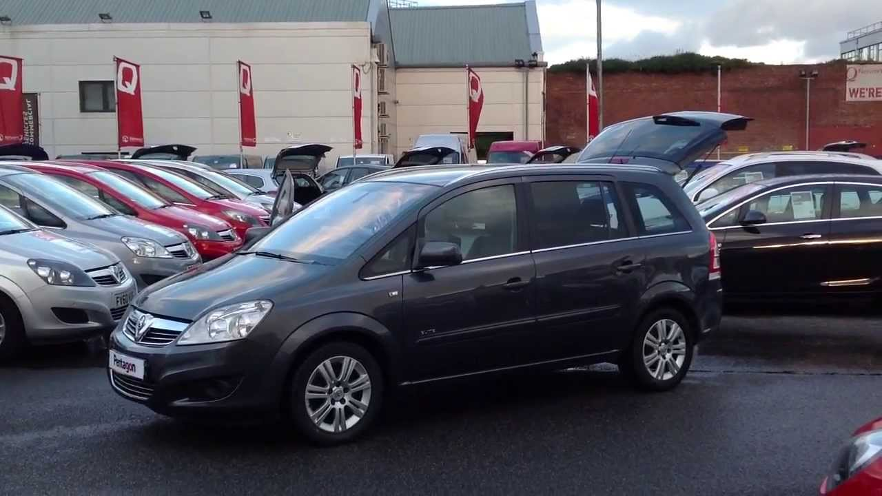 2010 vauxhall zafira elite auto in grey youtube. Black Bedroom Furniture Sets. Home Design Ideas