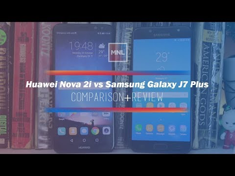 Huawei Nova 2i (Honor 9i) vs Samsung Galaxy J7 Plus Comparison + Review