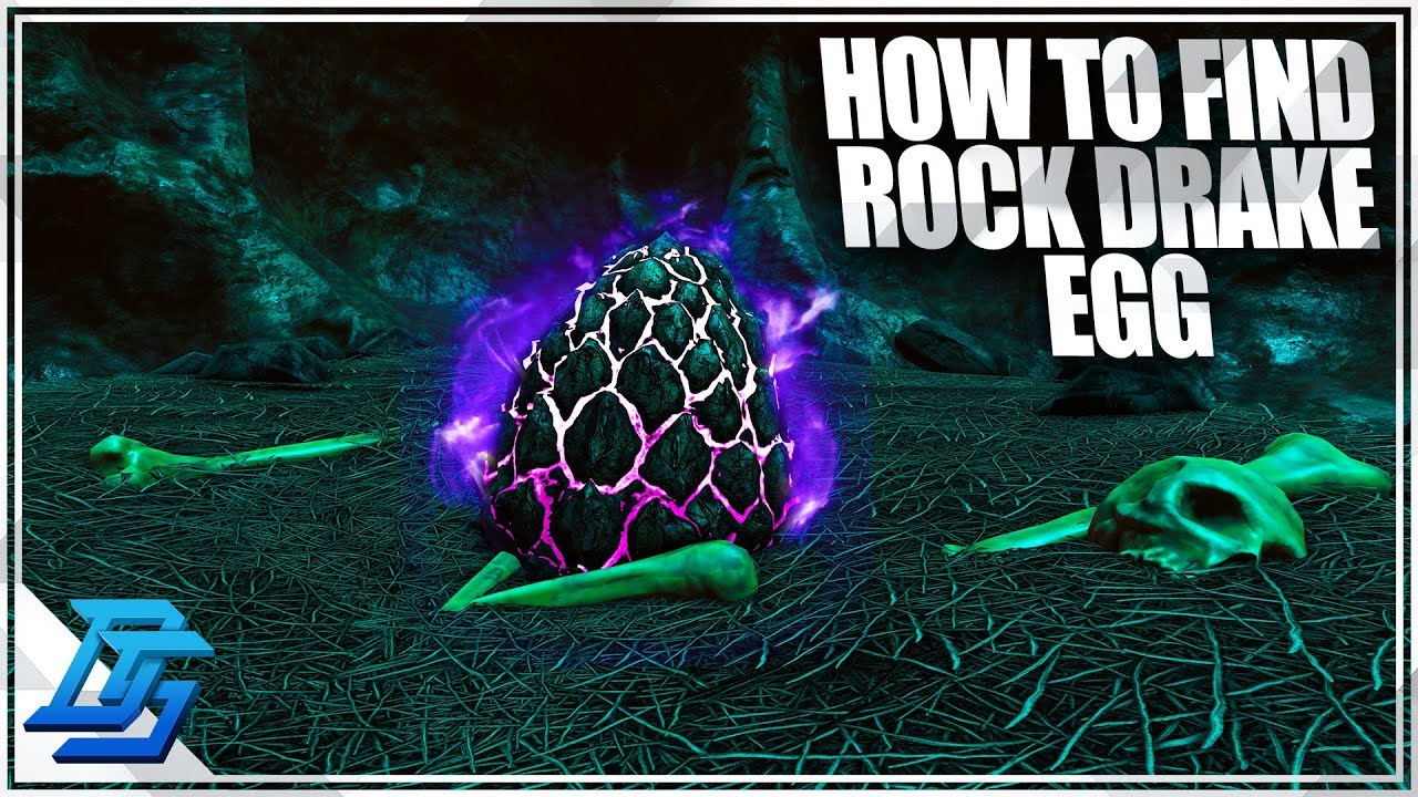 ROCK DRAKE EGG, HOW TO FIND ROCK DRAKE EGG - Ark Survival Evolved - Part 17  - Aberration