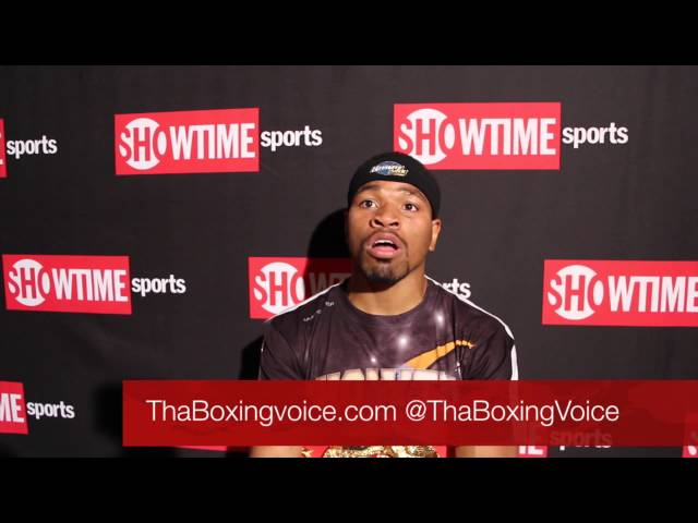 Porter: If Mayweather wants it he can get it