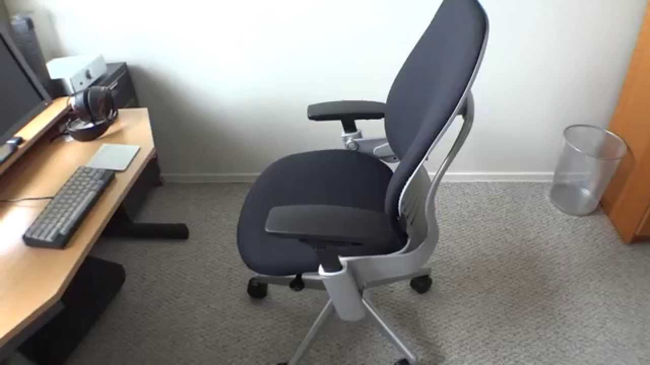 Leap Chair By Steelcase reviewed- steelcase leap chair - youtube