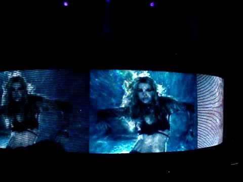 Britney Spears - Break The Ice - Interlude - Circus Tour - 03/24/09 Washington DC