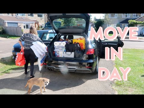 MOVING TO UNIVERSITY VLOG! Organising My Room, Freshers & Dealing With Homesickness
