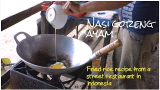 How To Make A Nasi Goreng Ayam // Authentic Indonesian Recipe // Fried Rice With Chicken