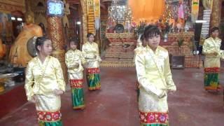 ฟ้อนไตขืน ไทเขินเชียงตุง กาดบุ้ง Tai Khun Kengtung Dance ᨩᨦᨲᩩᨦ က်ိဳင္းတံု ဂုံရွမ္း