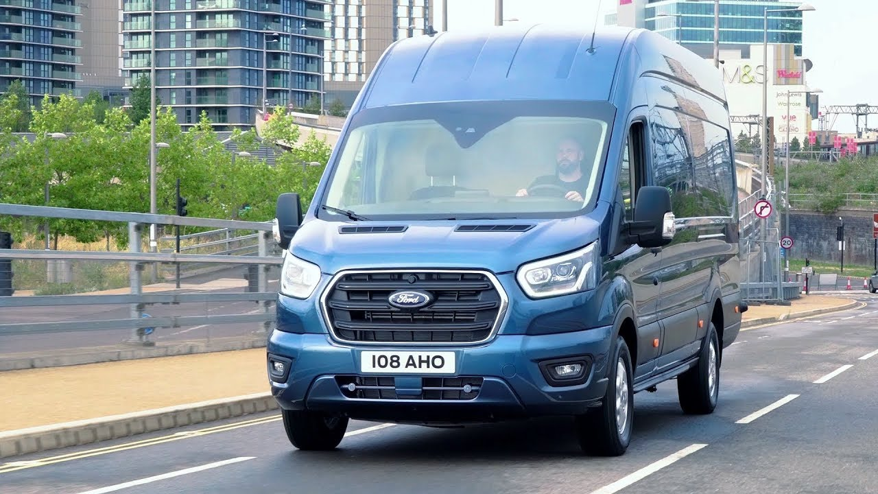 ford transit stratosphere blue driving youtube