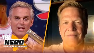 Phil Jackson is the real reason why Bulls dynasty ended, talks LeBron & KD — Ric Bucher | THE HERD