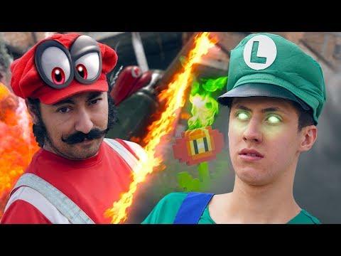 Mario VS Luigi (ODYSSEY BATTLE)