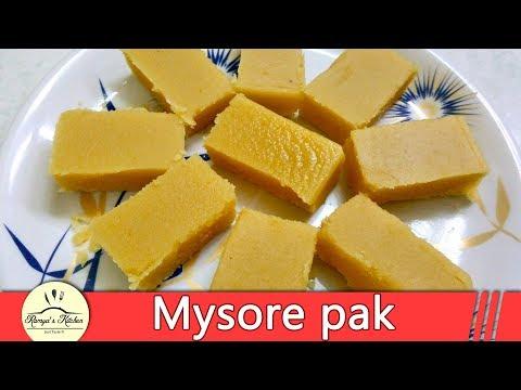 Mysore Pak in tamil | Mysore Pak recipe in tamil | Ghee mysore pak | how to make Mysore pak in Tamil thumbnail