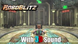 Roboblitz with 3D spatial sound (OpenAL Soft HRTF audio)