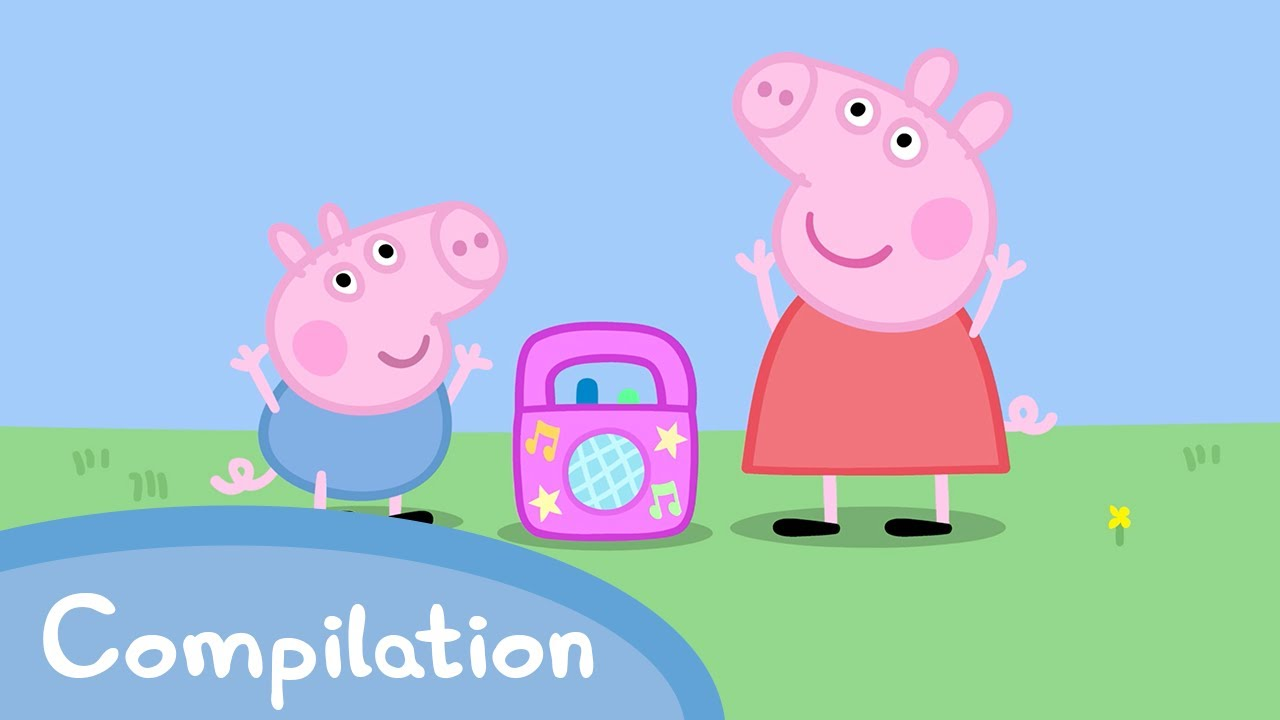 Peppa Pig Official Channel | Peppa Pig's Dancing Compilation