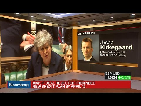 Odds of a No-Deal Brexit Still Very Low, Says Peterson Institute's Kirkegaard