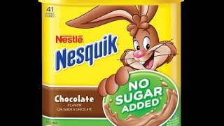 Nesquik No Sugar Added   Taste & Review