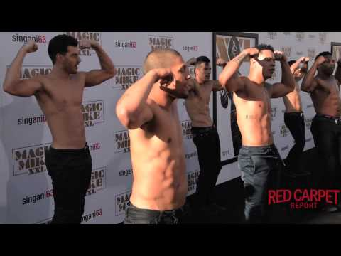 Dancers & Interviews from the Red Carpet at the Premiere of Magic Mike XXL #MagicMikeXXL #ComeAgain