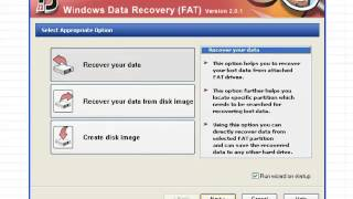 Disk Doctors Windows Data Recovery (FAT) Software