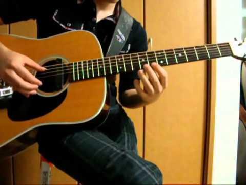 """COWBOY BEBOP """"Waltz for Zizi"""" acoustic guitar solo"""