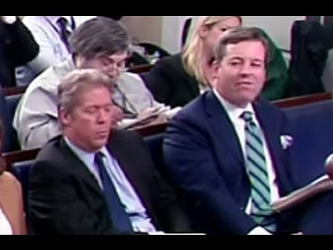 Ed Henry Storms Out of White House Briefing