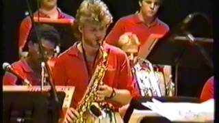 APSU JAZZ BAND Featuring Andy Robinson on Alto Sax   POLKA DOTS & MOONBEAMS
