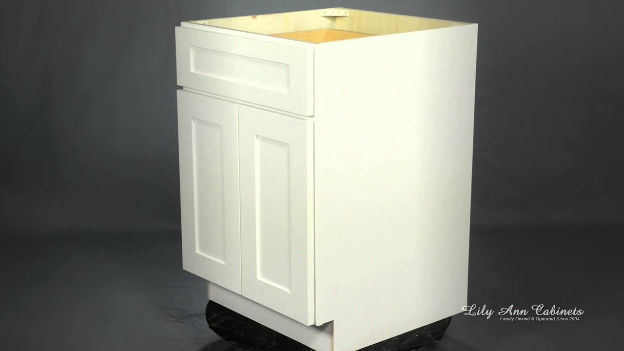 Lily Ann Cabinets White Shaker Elite Cabinet Features