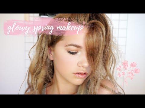 GLOWY SPRING MAKEUP LOOK #springcollab ✗ Forever Jade