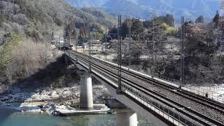 JR東日本211系坂下通過(2019.3.9)