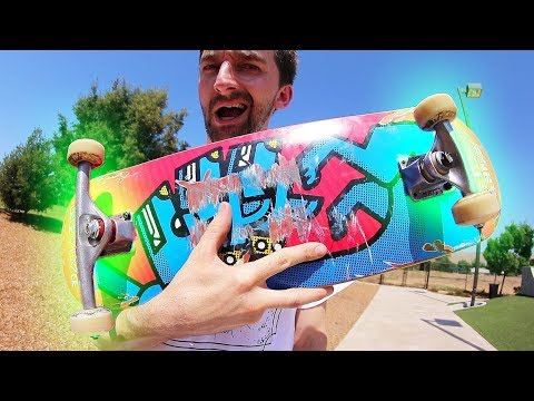 GIANT TRUCK VS TINY TRUCK SKATEBOARD! | STUPID SKATE EP 102