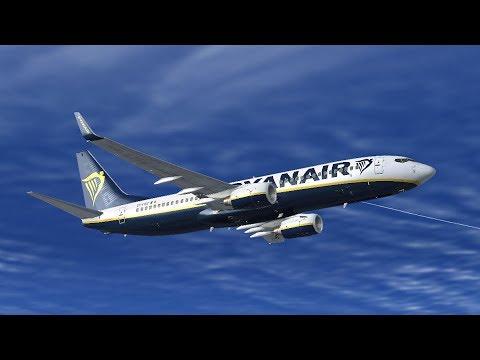 VRyanair PMDG 737-800 NGX | London Stansted EGSS to Grenoble LFLS (France) ✈  #ROADto4K