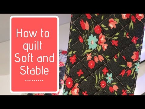 Hello Pouches: Quilting Soft and Stable – Knot and Thread Design