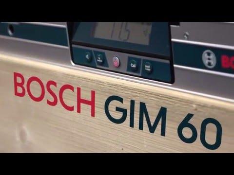 Видео обзор: Угломер BOSCH GIM 60 Цифровой уклономер для высокоточного переноса углов наклона на большие расстояния