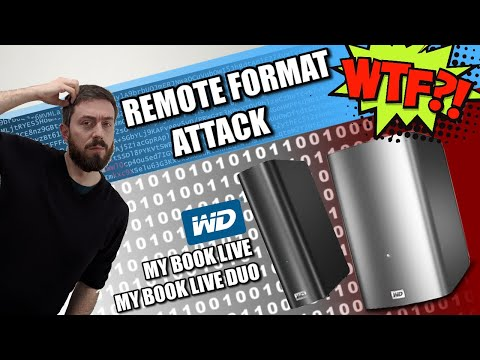 WD My Book NAS - REMOTE FORMAT ATTACK