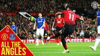All the Angles | Anthony Martial v Everton | Manchester United 2-1 Everton | Premier League