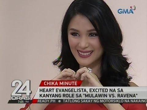"24 Oras: Heart Evangelista, excited na sa kanyang role sa ""Mulawin vs. Ravena"""