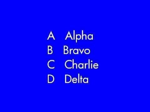 Military Phonetic Alphabet ~ Vietnam War To The Present
