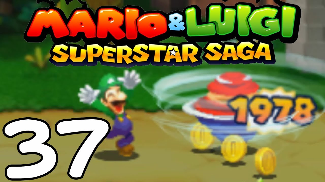 Mario Luigi Superstar Saga 3ds 17 Destructive Muscle