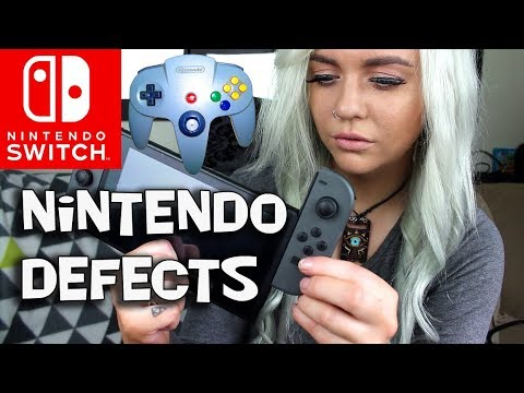 """Nintendo Switch JOY-CON """"Drifting"""" LOCK BROKEN - SLIDES OFF WITHOUT THE BUTTON PRESSED"""