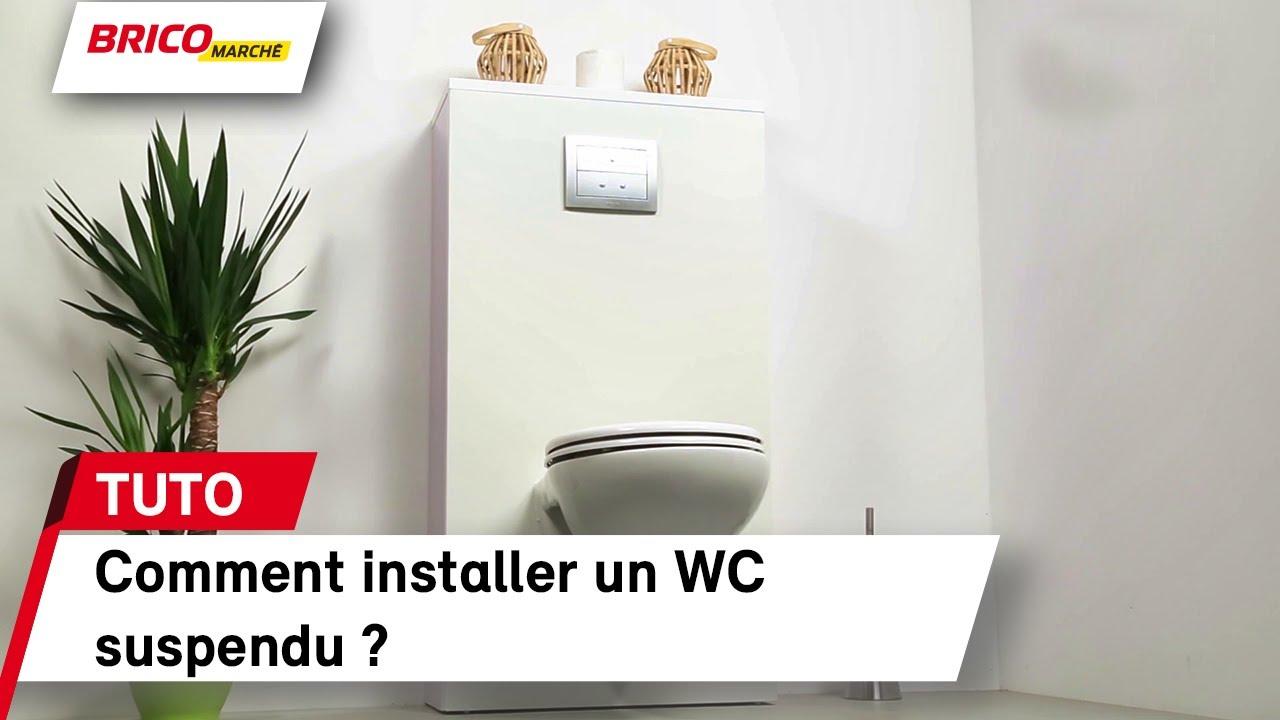 Comment Installer Toilette Suspendu comment installer un wc suspendu ? (bricomarché)