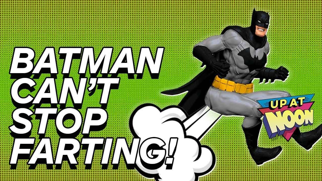 Batman no puede dejar de tirarse pedos cerca de los bebés - A.I. Noticias generadas + vídeo