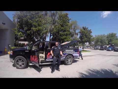 Winter Haven Florida Police Department Running Man