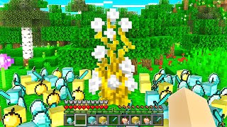 Minecraft But FLOWERS Drop ANYTHING!
