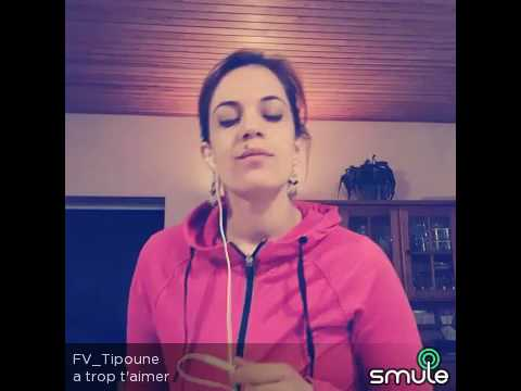 A trop t'aimer, Amel Bent - cover - Marianne Tipoune