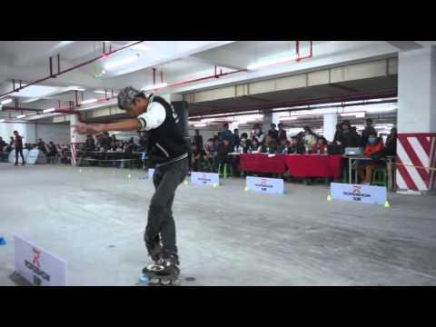 "MAN SLIDE  ""Xiasha Cup"" College skating Grand Prix a complete version"