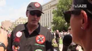 The KKK Arrives At The Rally In South Carolina |