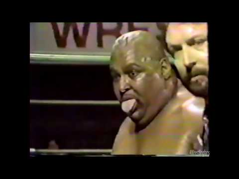 CWF Wrestling Abdullah The Butcher Puts His Money Where His Mouth Is !