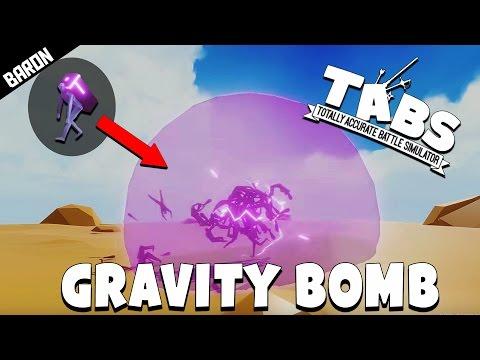 NEW Gravity BOMB Unit - Totally Accurate Battle Simulator Sandbox