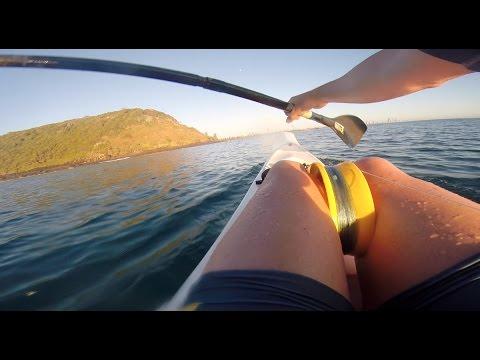 Fishing Burleigh heads on surf ski's
