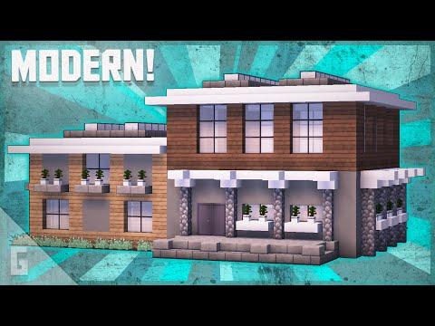large-wooden-modern-house-minecraft-tutorial-(#67)