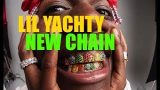 Lil Yachty Shows Off New Bart Simpson Chain #hiphopnews