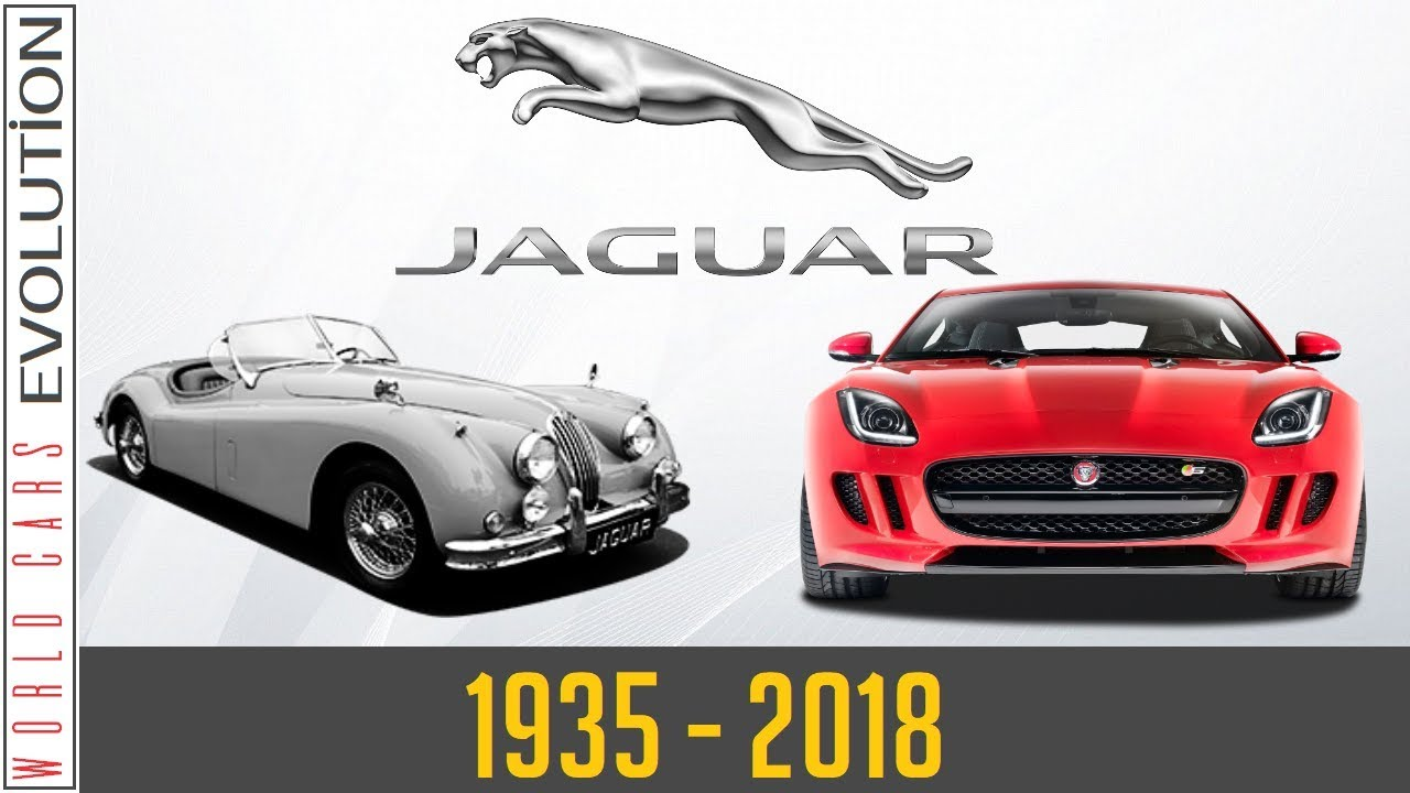 Jaguar Evolution 1935 2018 Youtube