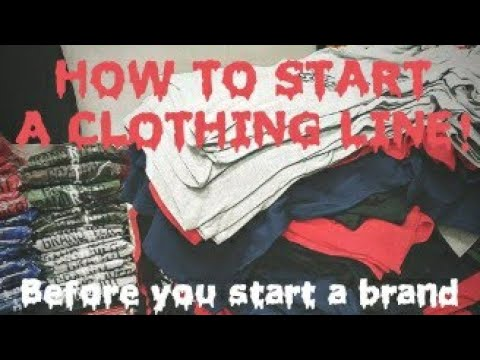 Before you start a clothing line, WATCH THIS!
