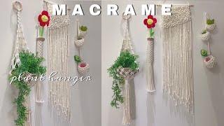 #DIY ·?Macrame plant hanger #4…